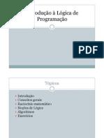 Introducao a Logica de Programacao - GERAL_ALUNOS