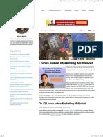 Livros Sobre Marketing Multinivel - MarceloM