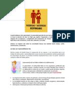 Guia No. 1 Parte 1 Paternidad y maternidad responsable