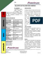 PU 40 - Selante de Poliuretano rev 05