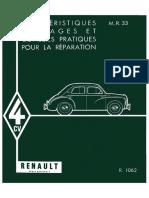 Rta Renault 4 Cv 1062