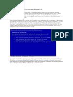 FORMATEAR DISCO DURO Y REINSTALAR WINDOWS XP