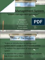Shipyard Management System