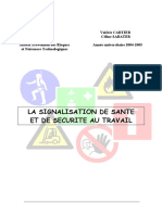 La Signalisation de Sante Et de Securite Au Travail Doc