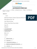 TAF PROCESOS ALTOMAYO PERÚ SAC - Trabajos - Luis Carlos Pérez Mundaca