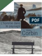 Alain Corbin L Homme Dans Le Paysage