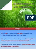 Cours Structure, Fonctionnement Et Évolution Des Écosystèmes1
