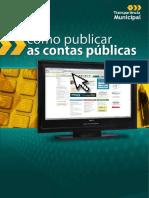 COMO PUBLICAR AS CONTAS PÚBLICAS