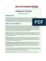 Roleplay for Groups