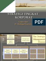 Bab 6 Strategi Tingkat Korporat