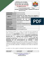 Acta Mayores y Menores e Item No(1)