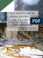 Recetario_La Sazon de la Cocina Afromestiza_no. 56_Conaculta