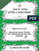 PPT clase 6, 3º y 4º
