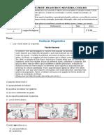 Avaliação Diagnóstica LP 1º ano E.M.