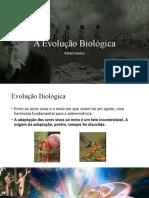 A Evolução Biológica_2019