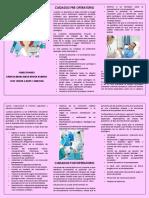 Cuidados de Enfermería en Los Procesos Pre