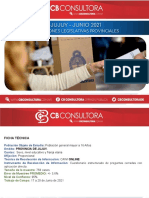 Encuesta Jujuy CB Consultora