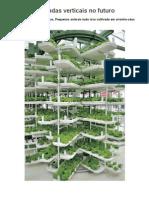 Fazendas verticais no futuro
