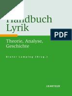 Dieter Lamping (eds.) - Handbuch Lyrik_ Theorie, Analyse, Geschichte-J.B. Metzler (2011)