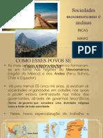 Slides incas, maias e astecas