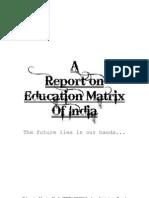 Education Matrix of India