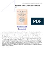 372036679 Les 151 Psaumes de David Dans La Magie Copte Avec La Clef