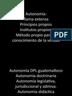 3. AUTONOMIA