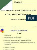 Chapitre 2 - Analyse de la structure financière et de l_équilibre financier (Bilan Financier)