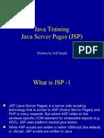 19-Java Server Pages (JSP)