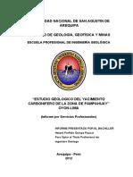 256952186 Estudio Geologico Mina Pampahuay