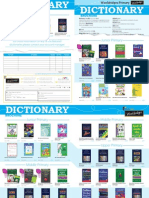 Primary Dictionary Flyer