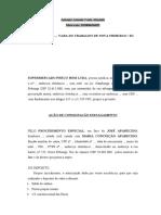 CONSIGNAÇÃO EMPAGAMENTO - 06 NPJ