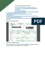 Formatos Para Exportacion