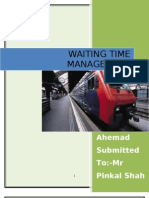 Waiting Time Management