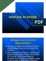 Heritage as Design