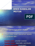 JENIS – JENIS KAWALAN MOTOR
