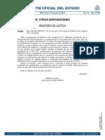 Real Decreto 459/2021, de 22 de junio, por el que se indulta a don Joaquim Forn i Chiarello
