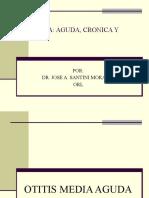 Otitis Media Aguda, Serosa y Cronica