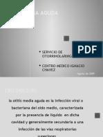 OTITIS MEDIA AGUDA Chavez