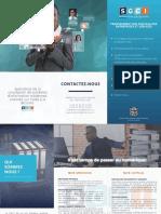 Modèle de brochure de présentation d'entreprise