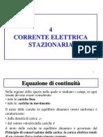 4 Corrente Elettricastazionaria