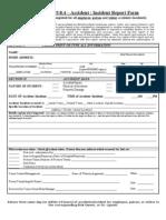 Appendix 9.8.4 - Accident & Incident Report Form