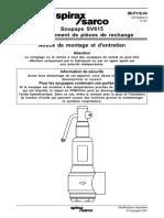 Spirax Sarco - SV615 Remplacement