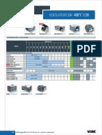Selection Ventilateurs C4 Standards