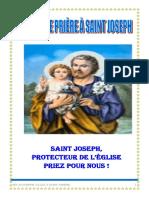Quelques prières à Saint Joseph