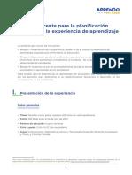 Guia de Planificacion Curricular 5to Experiencia de Aprendizaje 4 Desafios Como Pais Al Bicentenario Vida Republicana Secundaria AeC Ccesa007