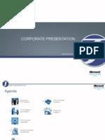 Corporate Presentation (General)