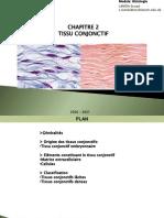 Chapitre 2 Tissu conjonctif  LAMDA 2021