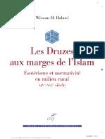 Les Druzes Aux Marges de Lislam