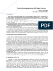 ipad as a tool for developing korean efl